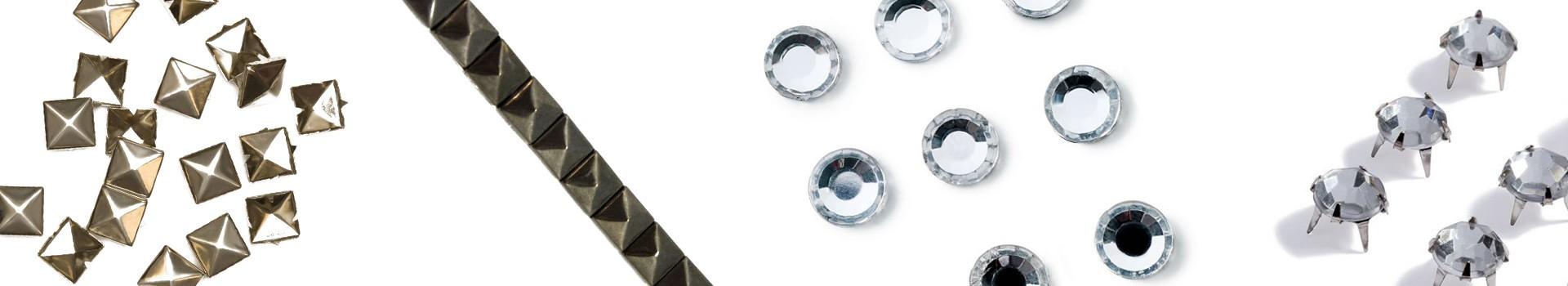 Rhinestones, Studs & Pearls