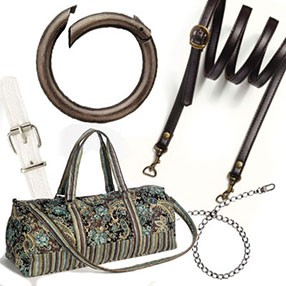 Bag handles and accessories