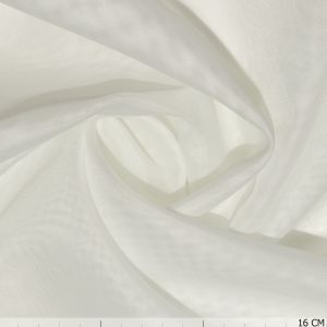 Voile Plain Off White
