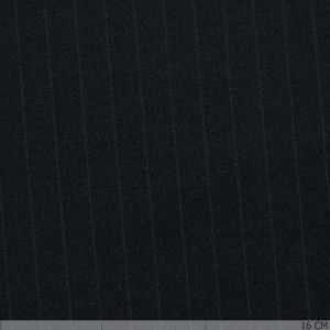 Collection Royal Chalkstriped Black Stretch