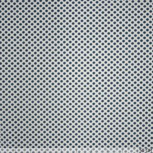 Little flower stretch jeans white