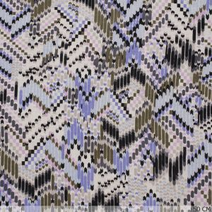 Tricot Lines in Zig-Zag Lilac