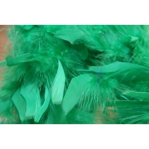 Boa 2 meters feathers green