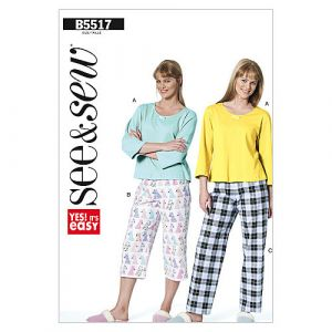 Butterick Sewing Pattern 5517-B