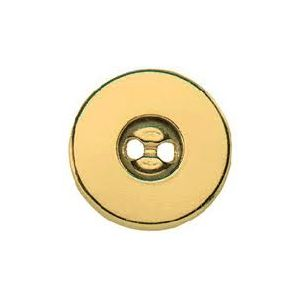 Magnetic sew-on buttons 19 mm gold col