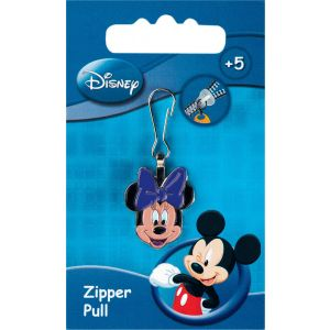 Fashion Zipper pullers Disney Minnie Mouse head