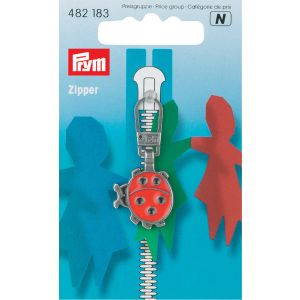Fashion Zipper pullers for Children Ladybird
