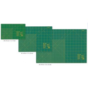 Cutting Mat for rotary cutters with cm/inch scale 45x30 cm (17x11inch)