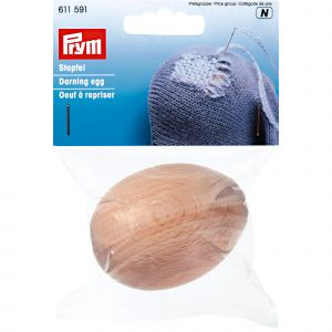 Darning Egg hardwood natural