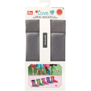Prym Love Fabric mix for boots grey