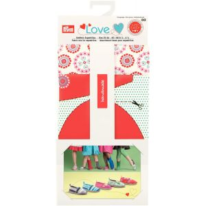 Prym Love Fabric mix for espadrilles red