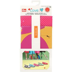Prym Love Fabric mix for espadrilles yellow/pink