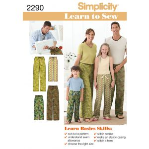 Simplicity Sewing Pattern 2290-A