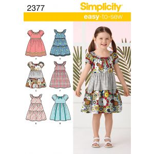 Simplicity Sewing Pattern 2377-A