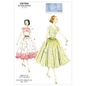 Vogue Sewing Pattern 8789-A5