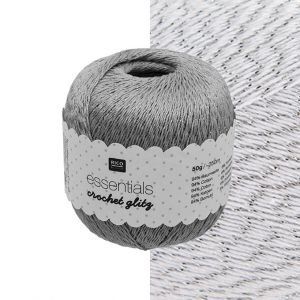 Rico Essentials Crochet Sprankel Wit