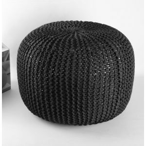 Phildar KIT DIY POUF NOIR