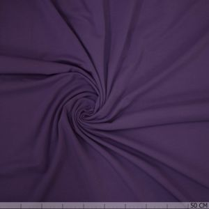 Cotton Tricot Cardinal Purple