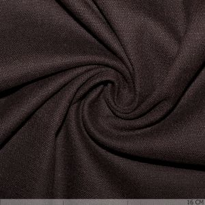 Stretch Linnen Dark Brown