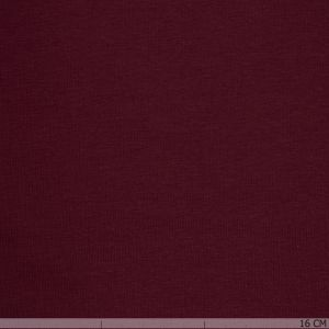 Brushed Cotton Tricot Bordeaux