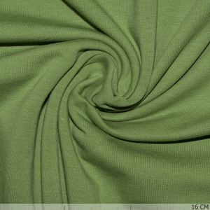 Brushed Cotton Tricot Kiwi