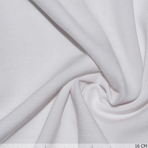 Uni Viscose Stretch White