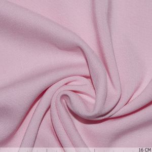 Uni Viscose Stretch Rose