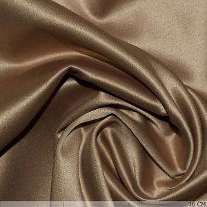 Satin With Stretch Gold