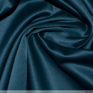 Satin With Stretch Petrol