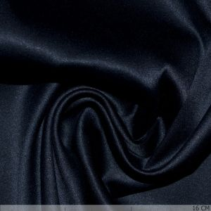 Satin With Stretch Dark Blue