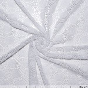 Lace Foraal White