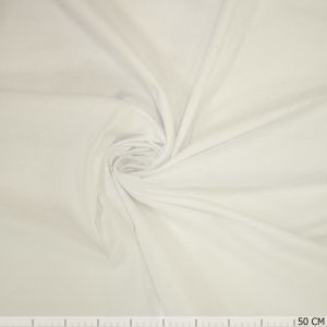 Cotton Voile Flock White