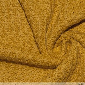 Knitted Waffle Big Ocre