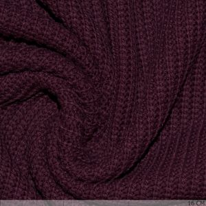 Big Knit Bordeaux