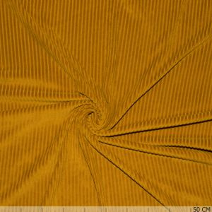 Knitted Corduroy Dark Ocher