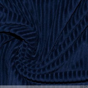 Knitted Corduroy Royal Blue