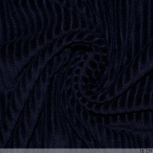 Knitted Corduroy Navy