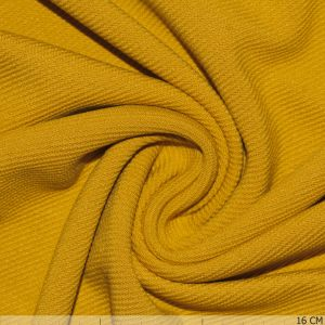 Knitted Viny Twill Yellow