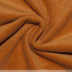Corduroy Stretch Washed Ocher