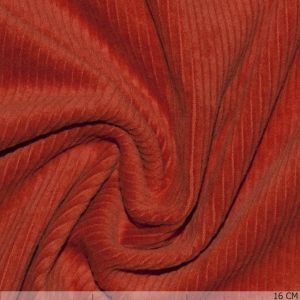 Corduroy Stretch Washed Orange