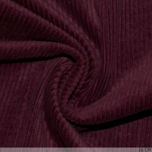 Corduroy Stretch Washed Raspberry