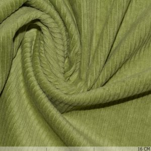 Corduroy Stretch Washed Lime