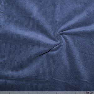 Corduroy Stretch Washed Ink Blue