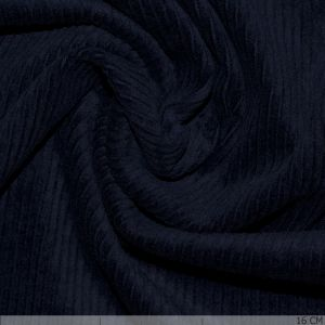 Corduroy Stretch Washed Navy