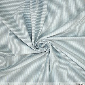 Denim Stretch Stripe Light Blue