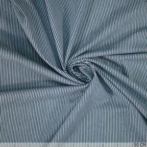 Denim Stretch Stripe Middle Blue