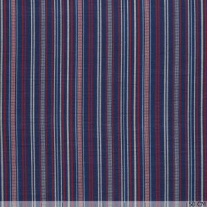 Mexican Lines Jacquard Navy/Red