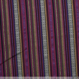 Mexican Lines Jacquard Lines Red