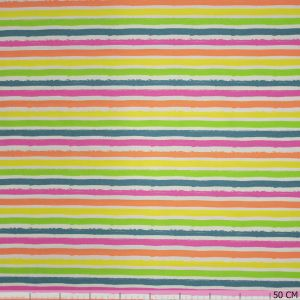 Neon stripes white