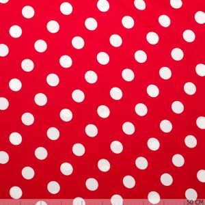 Minnie Mouse Noppen Rood met Wit